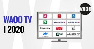 Foto af WAOO TV Pakke priser i 2020 – Discovery kanalerne fortsætter
