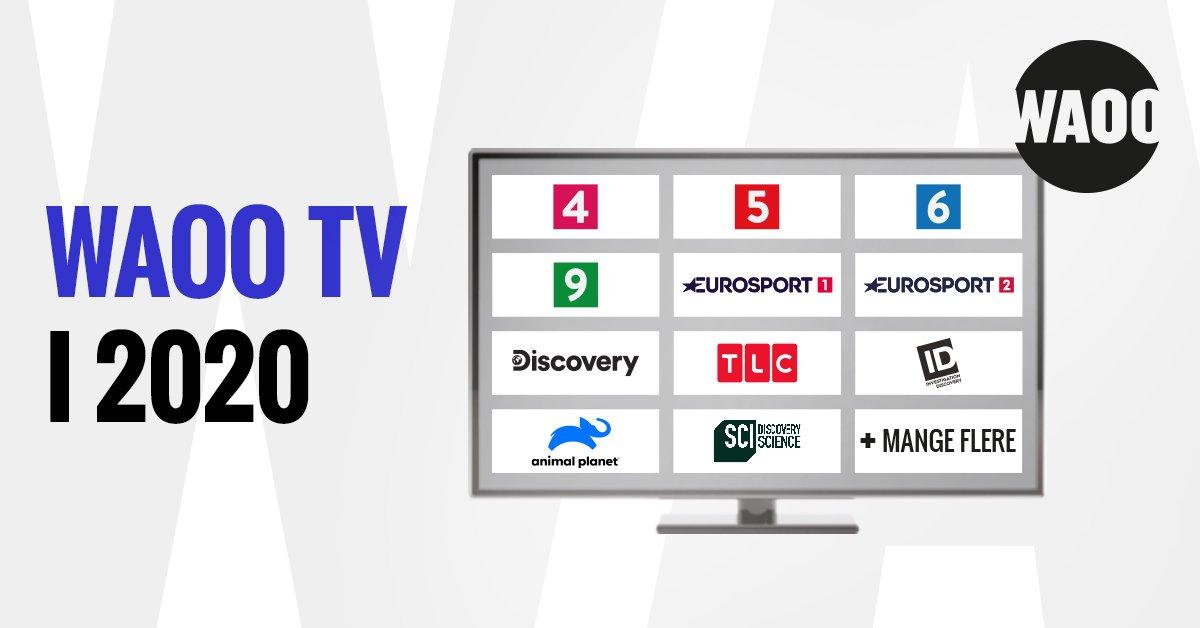 WAOO TV 2020 TV pakke priser