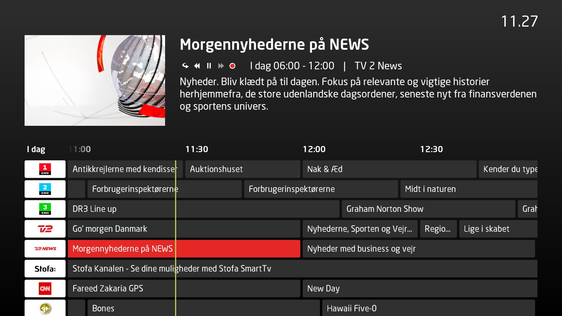 Stofa Tv boks Tv-Guide