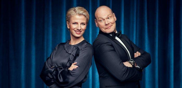 Året der gak 2019 værter TV 2 Charlie