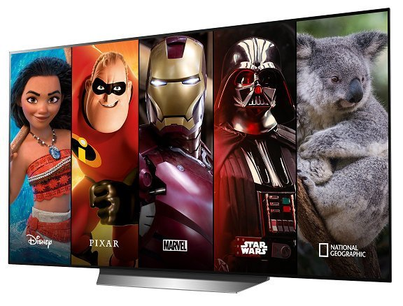 Disney+ LG webOS TV