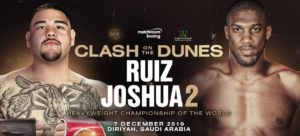 Ruiz - Joshua 7 december 2019 viaplay