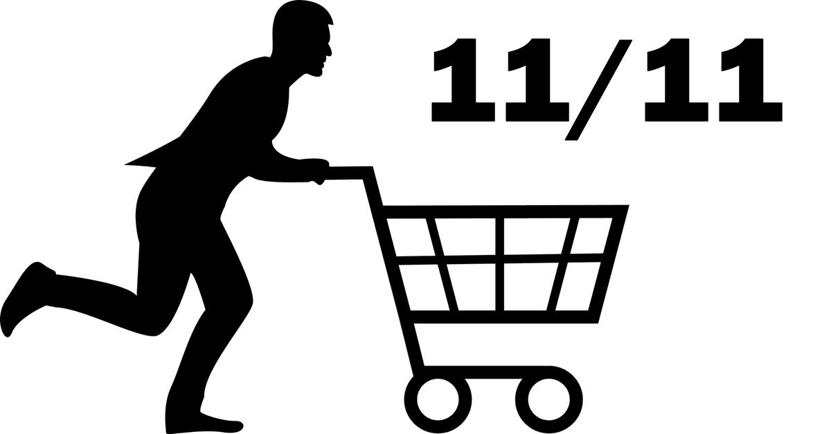 Singles day 11 11 Shopping