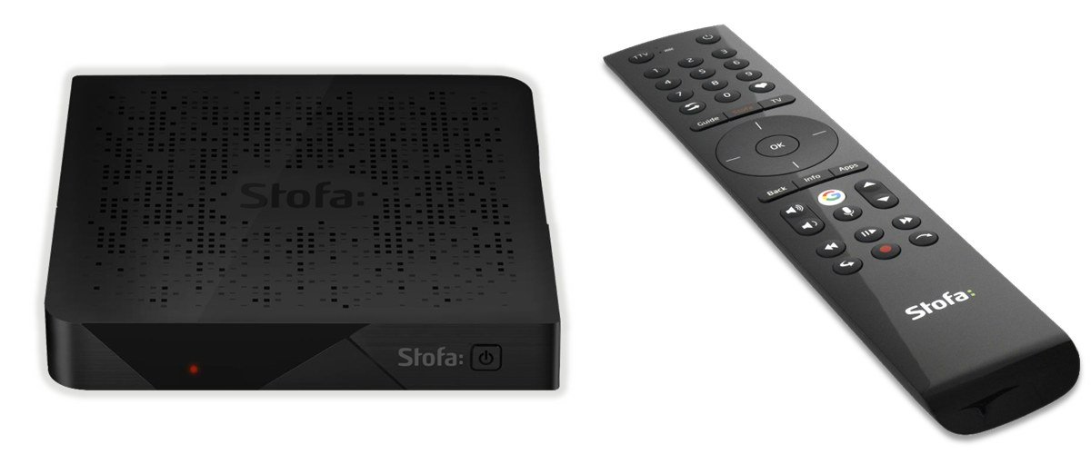 Stofa Android TV boks