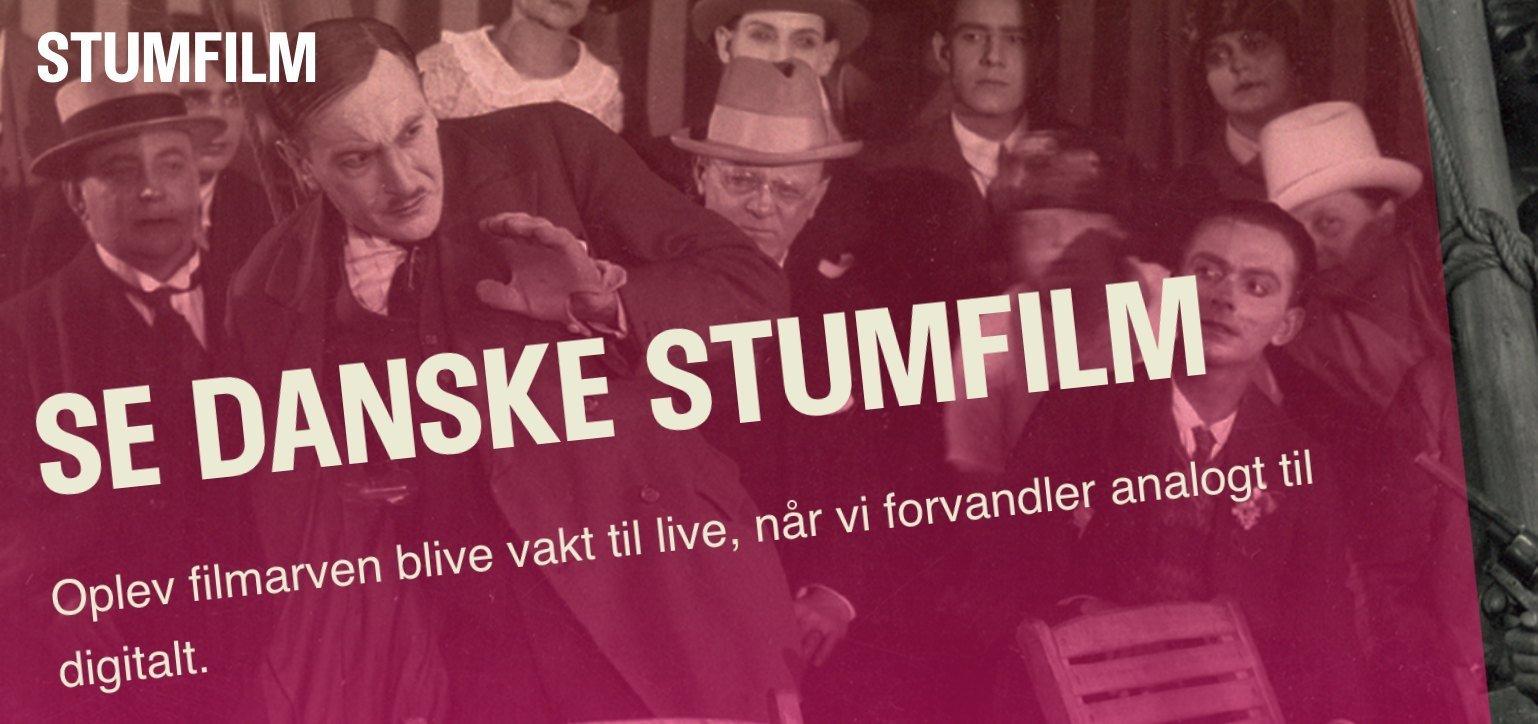 Stumfilm.dk streaming gratis