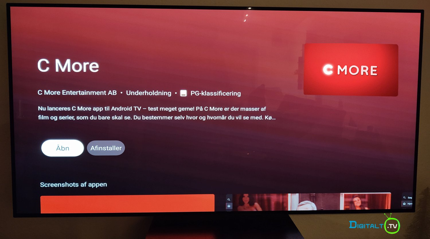 C More Android TV app