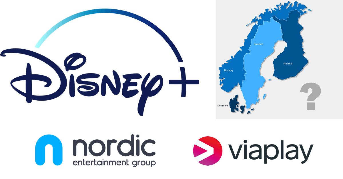 Disney+ nordiske lande nent