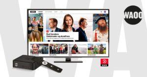 Photo of Waoos TV-boks kunder har nu den nye udgave af DRTV streamingtjenesten