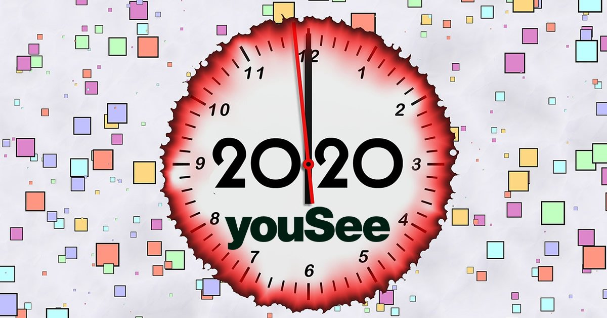 YouSee 2020 clock