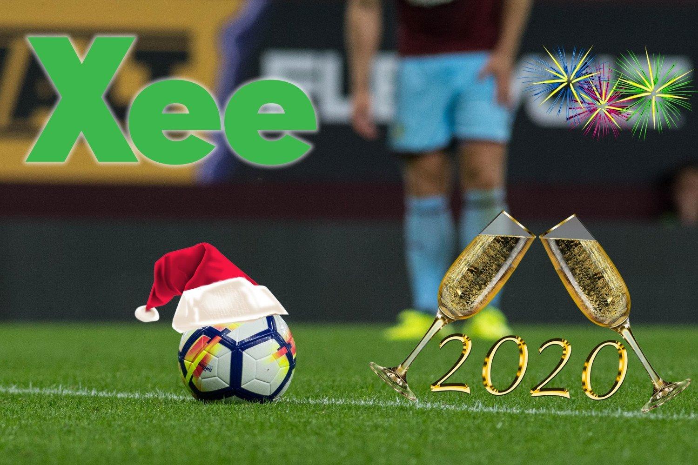 fodbold jul nytaar xee 2019 2020