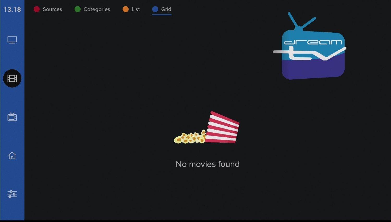 DreamTV Mini Movie section