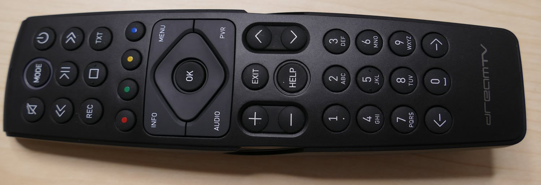 DreamTV mini remote