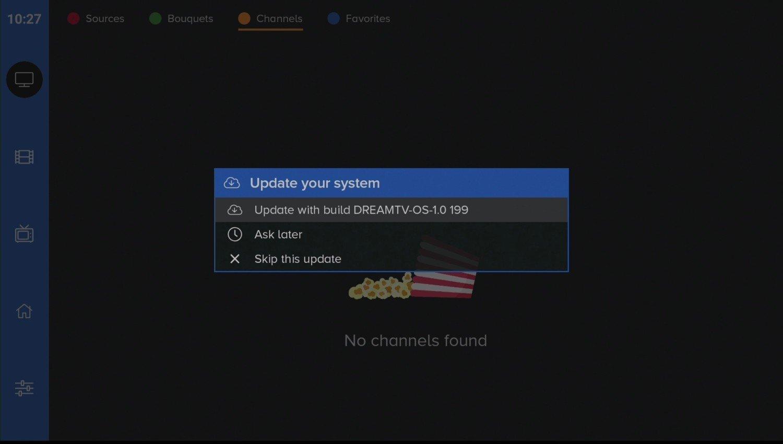 DreamTV update