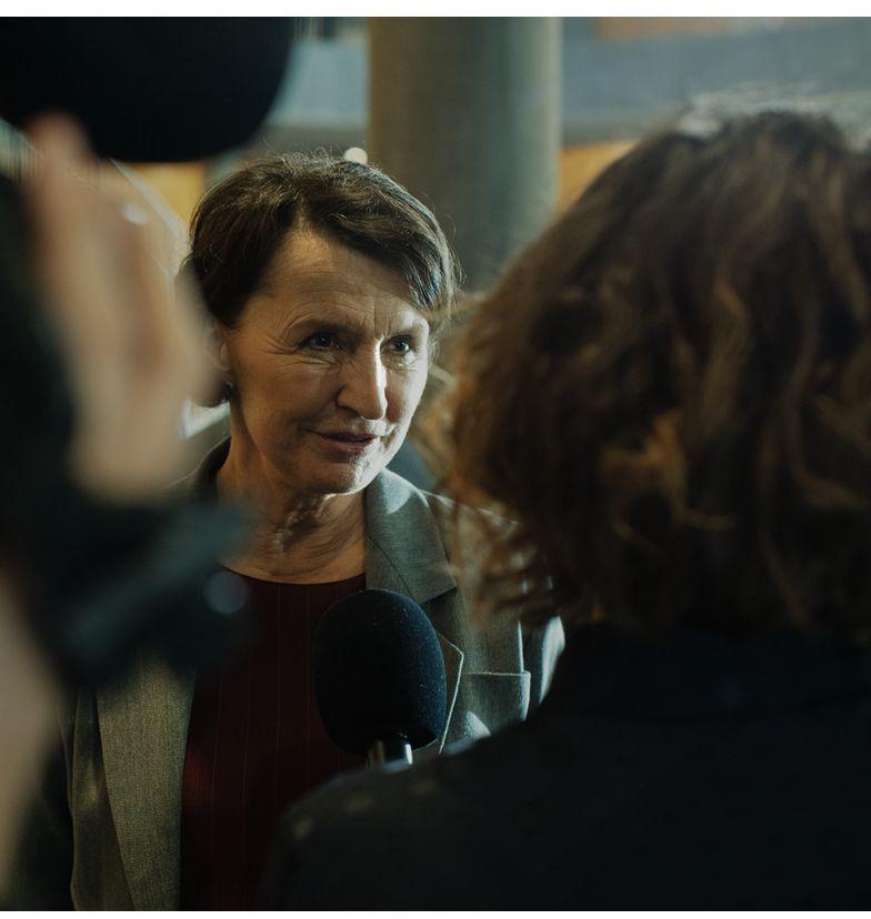 Nør støvet har lagt sig Elisabeth Karen-Lise Mynster