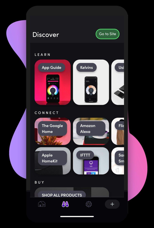 LIFX App Discover
