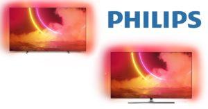 Foto af Nye Philips OLED TV i butikkerne i maj