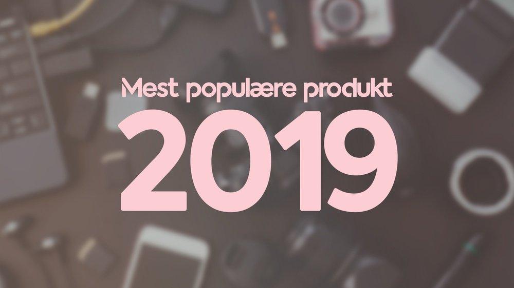 Pricerunner populære produkter 2019