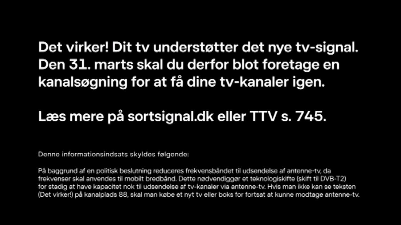 DVB-T2 test kanal