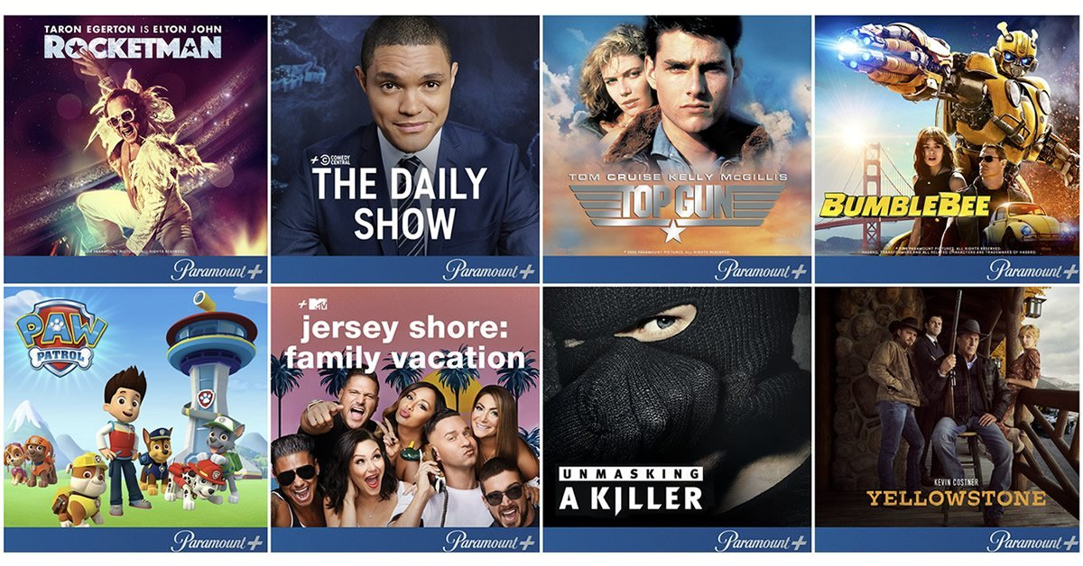 Paramount streaming guide
