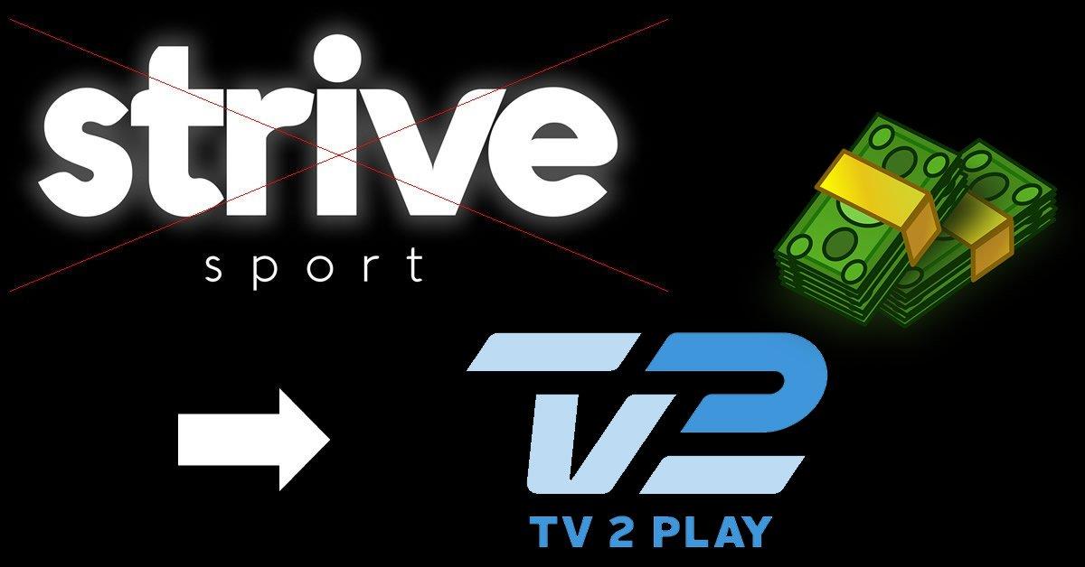 Strive TV 2 Play prisstigning