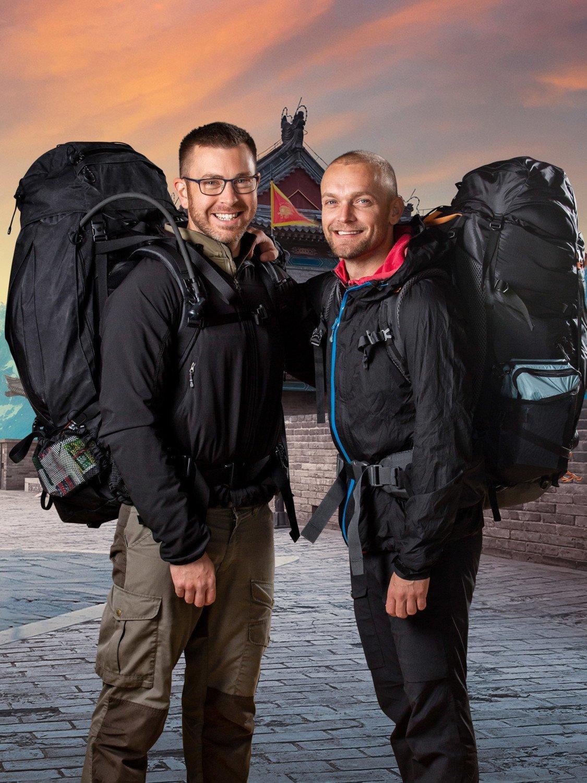 Først til verdens ende TV 2 Soldaterne Carsten (tv) og Kim (th).