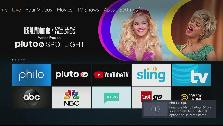 Amazon Fire TV Stick 4K US apps