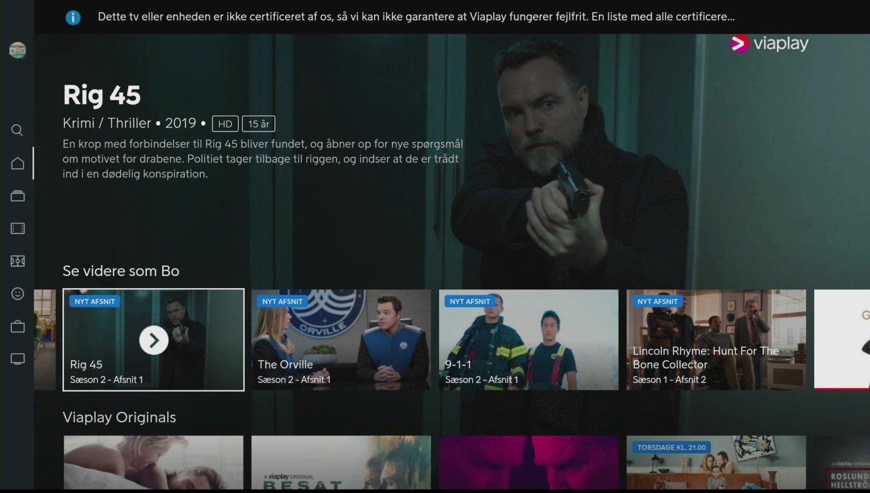 Amazon Fire TV Stick 4K Viaplay app