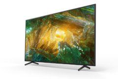 Foto af Sony annoncerer pris og tilgængelighed på de nye XH81, XH80 og X70 4K HDR-tv
