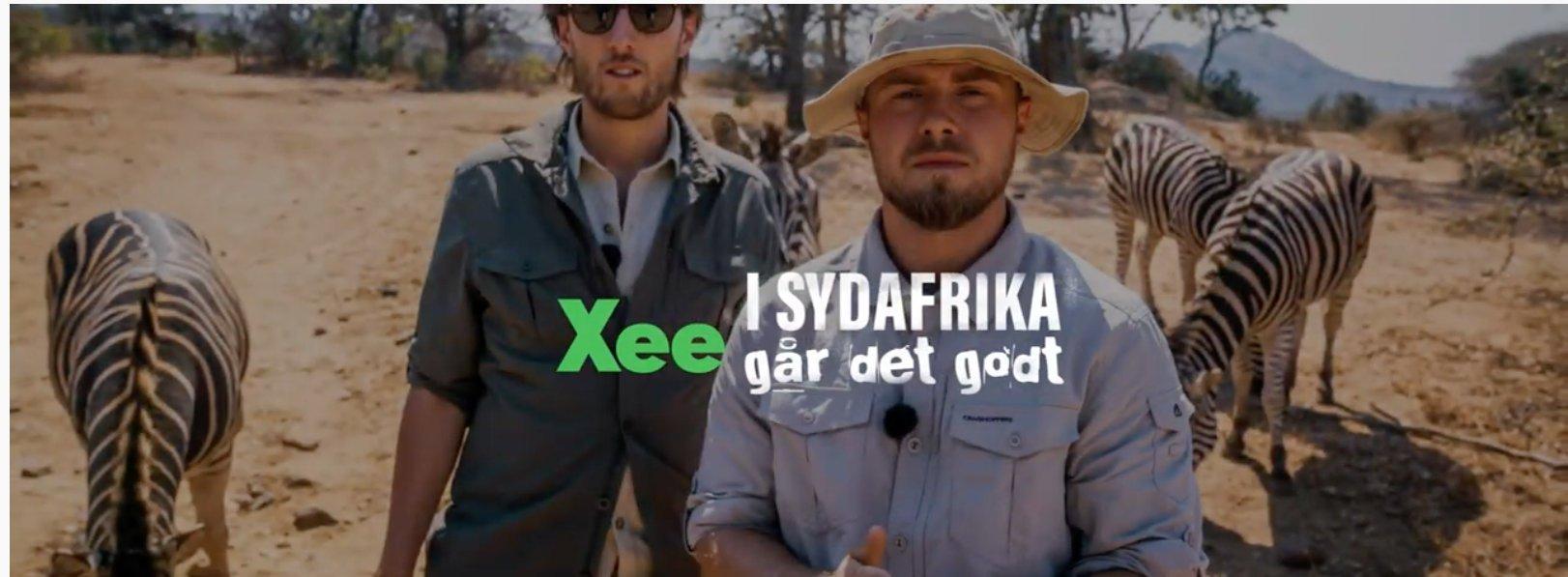 Xee i sydafrika går det godt