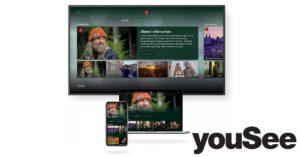 Foto af YouSee kunder har nu adgang til DRTV streaminguniverset
