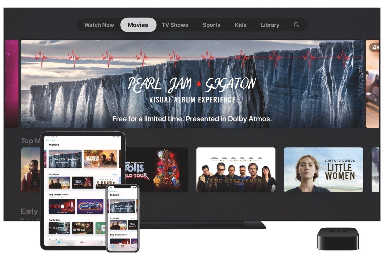 Pearl Jam Gigaton Apple TV