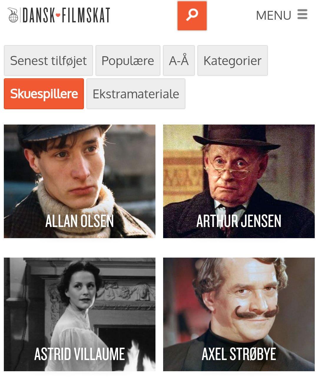 dansk filmskat skuespillere