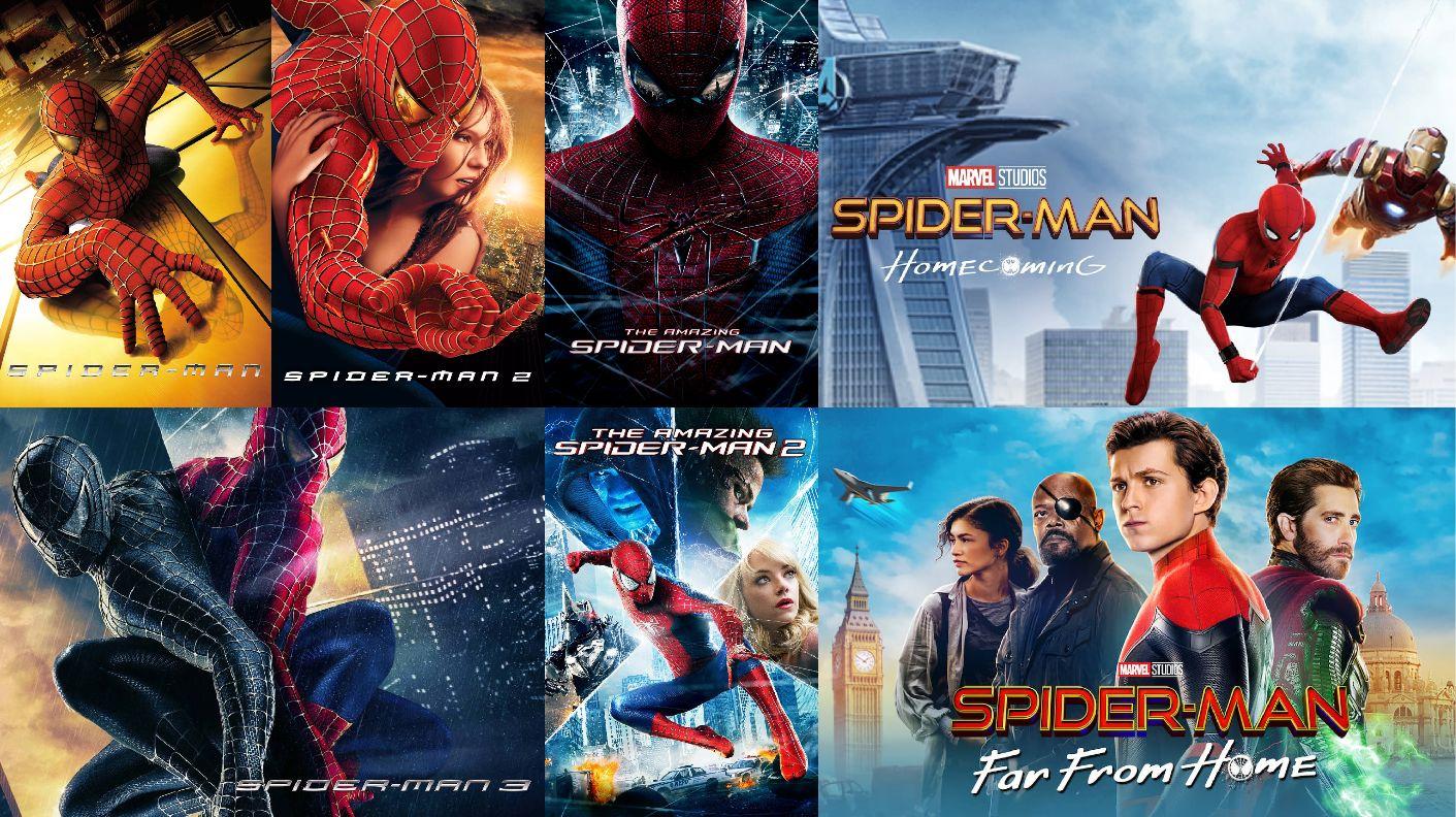 Spiderman x7 viaplay