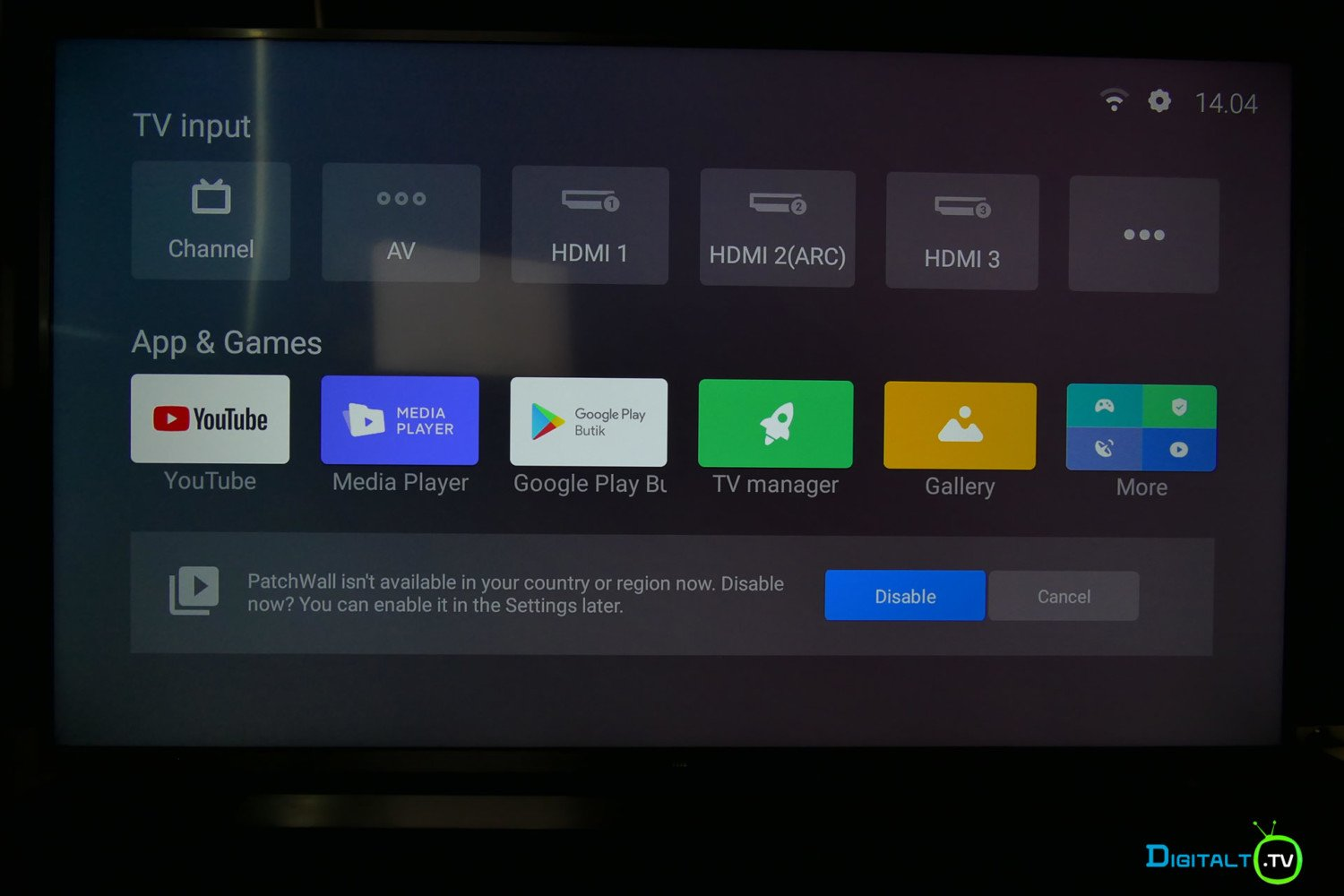 Xiaomi Mi LED TV 4S patchwall