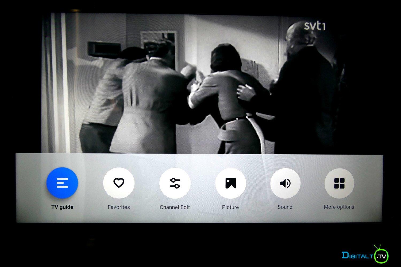 Xiaomi Mi LED TV 4S settings meneu tv