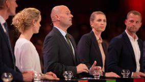Foto af Partileder debat på DR1 og TV 2