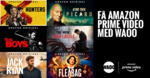 Photo of 6 måneders gratis Amazon Prime Video til Waoo kunder