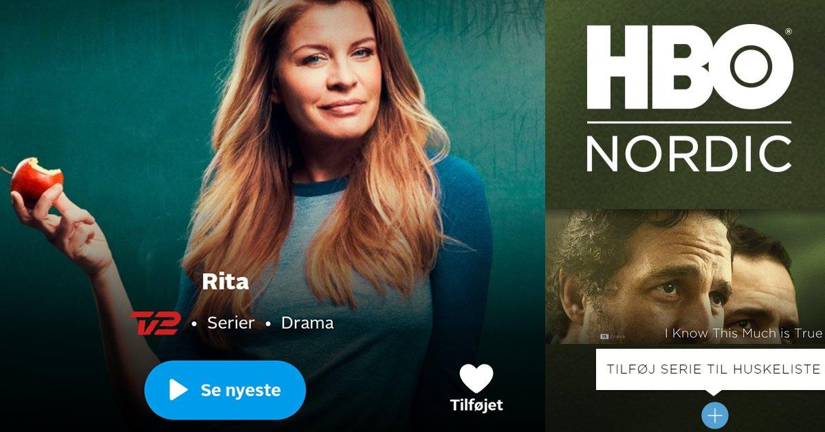 Huskeliste TV 2 Play HBO Nordic