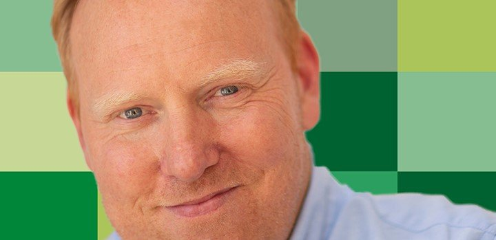 Anders Breinholt står i spidsen for 'Grønnere Grøn'