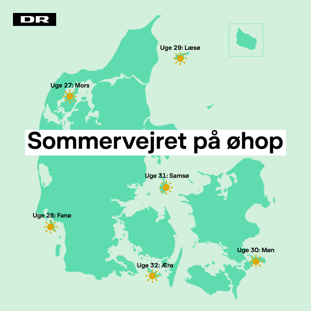 sommevejret paa oehop
