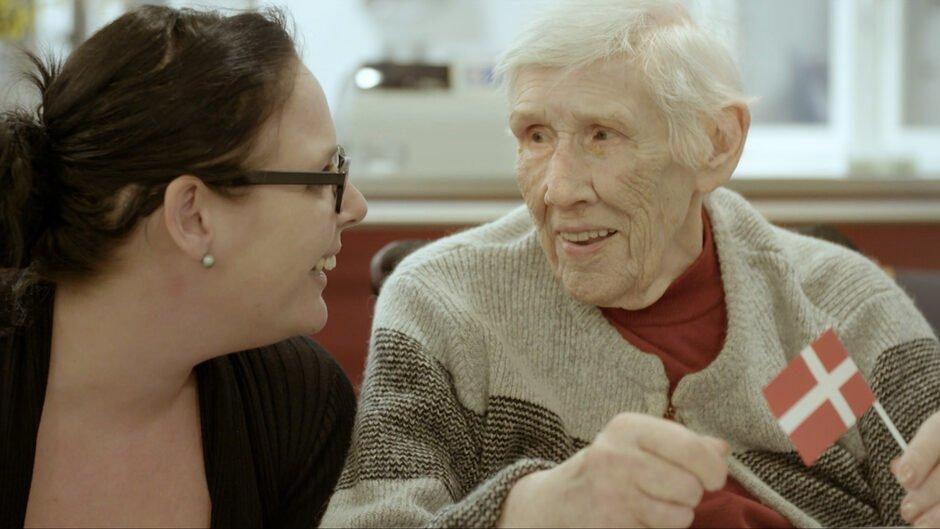 Charlotter Ahm med Farmor Else Marie Larsen TV 2 dokumentar