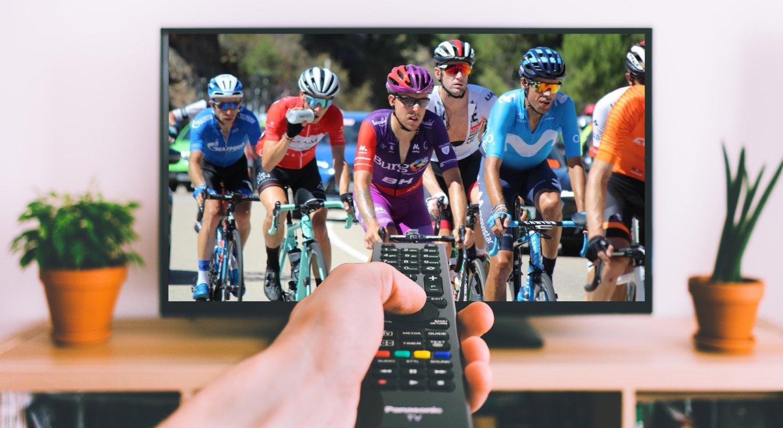 Cykling på tv og streaming