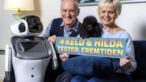 Foto af Keld og Hilda tester fremtiden