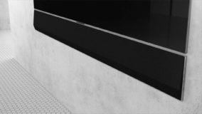 Foto af LG's nye GX Soundbar passer til OLED GX TV modellen