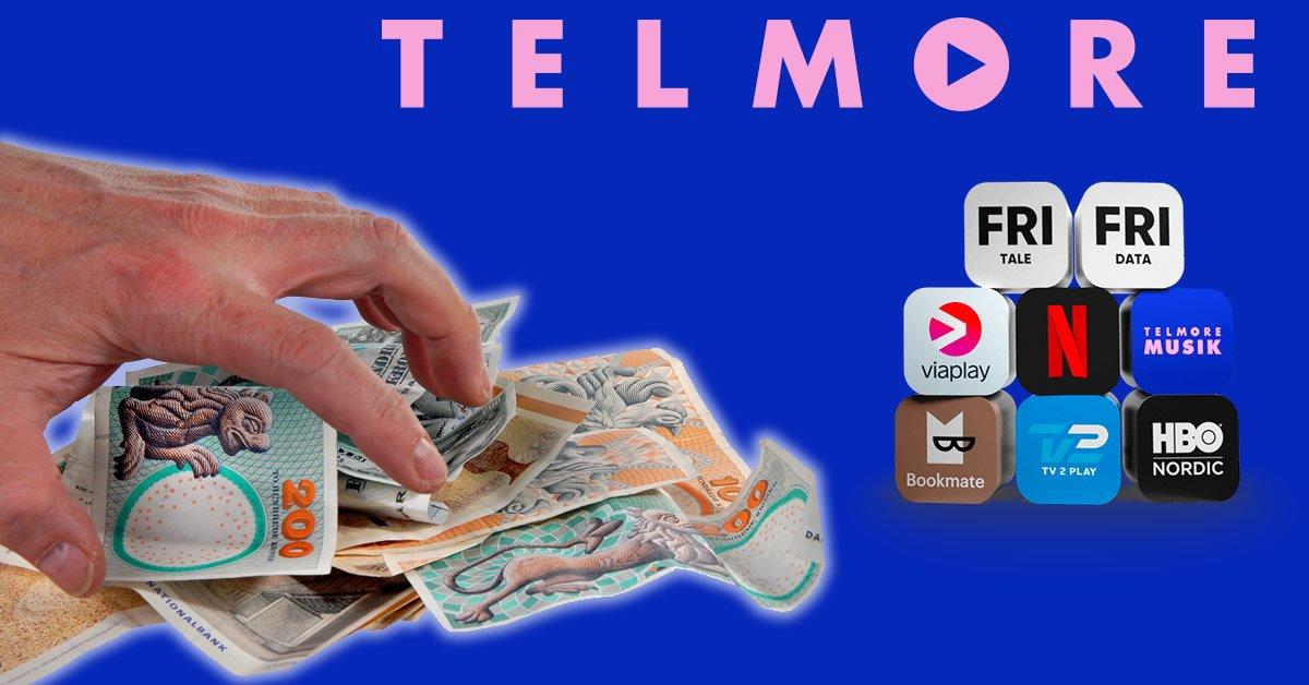 Telmore Play besparelser