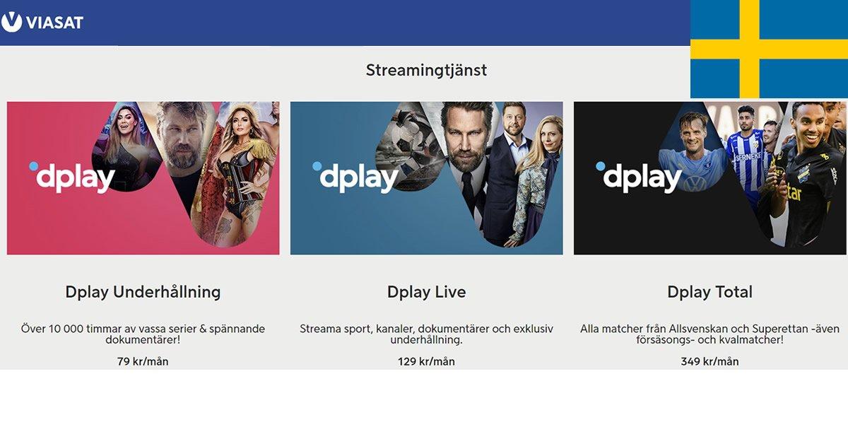 Viasat Dplay Sverige