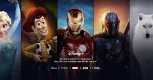 Disney+ lancering Danmark