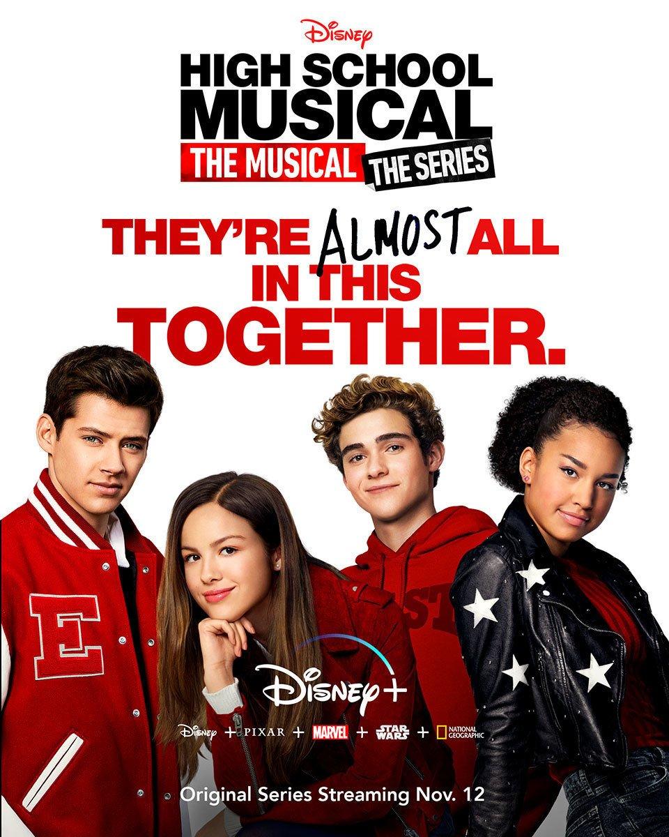 high school musical series Disneyplus