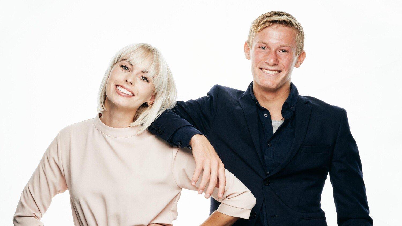 Albert Rosin Harson - Jenna Bagge Foto - Henrik Ohsten TV 2