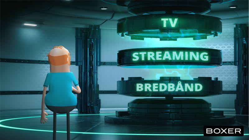 Boxer TV Streaming Bredbånd
